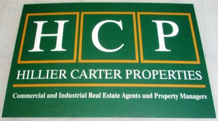 Realtor's business card