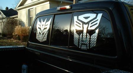 Transformer Custom Decal