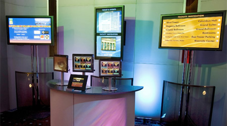 Various digital signage solutions