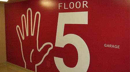 Garage Floor Sign