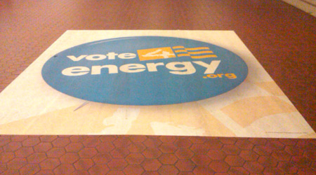 Lobby Floor Decals