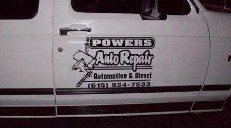 Auto Repair Magnetic Sign