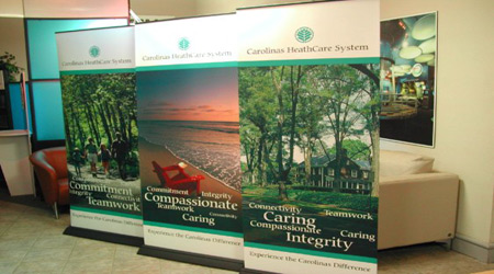 Healthcare Pull-up Banner
