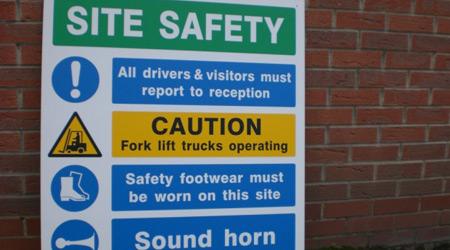 Safety PVC Sign
