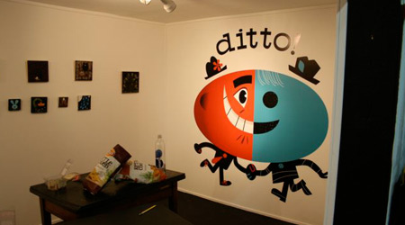 Vinyl Decals Ditto