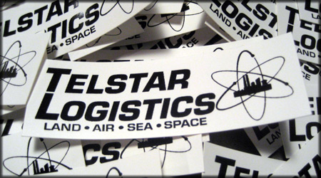 Telstar Vinyl Stickers