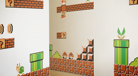mario wall stickers