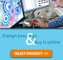 Design and buy your custom sign online